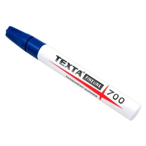 caneta texta 700 azul 2